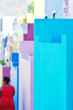 Houses of Bo-Kaap, Cape Town, South Africa. Multi Colored Variation Day South Africa Capetown Colour Of Life Colorful Colours Houses Colourful Houses Joyful Happy Bo-kaap Cape Town Turism Travel Travel Destinations Africa
