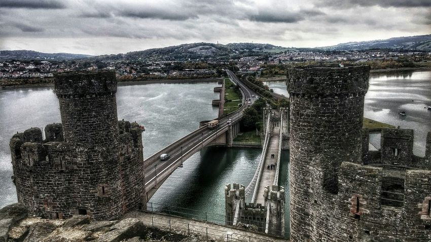 Conwycastle Conwy Hello World Check This Out EyeEm Best Shots Taking Photos Sea_collection Castle Ruin Castle View  Historical Building