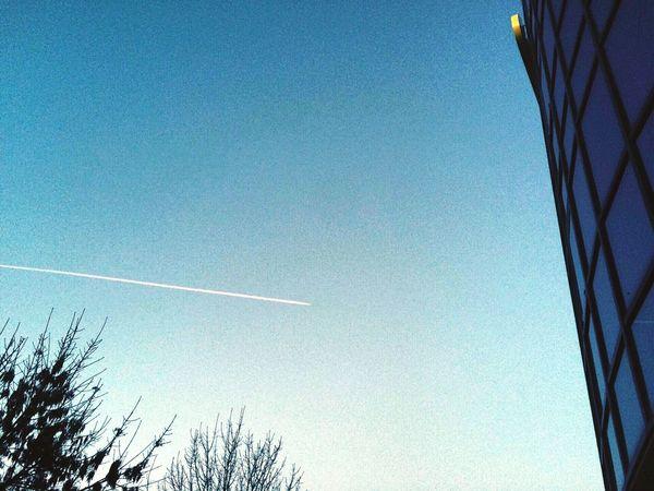Urban Geometry Life In City Taking Photos Plane