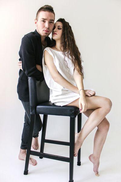 Angel&Demon Lovestory Love Studio Shot Izhevsk Canon600D Portrait