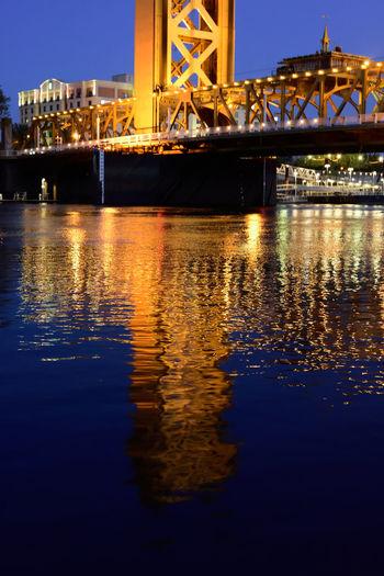 Crossing Appenderyphotography Golden Hour Nikon D7200 Riverfront Sacramentoriver Showcase April Tower Bridge Sacramento