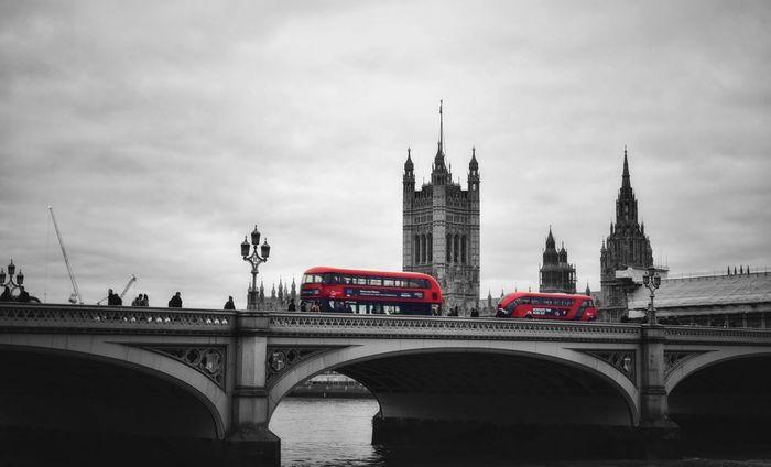 Westminster Bridge Photowalktheworld Nikon Inspirational LONDON❤ Transportation Politics And Government City Clock Tower Politics Government Cityscape Double-decker Bus Bridge - Man Made Structure Flag Democracy