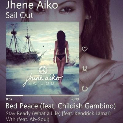 Chill Vibe Jhene Kendrick childish 2014 new sounds sailout music instagood instamusic Nokia igers follow like instamusic