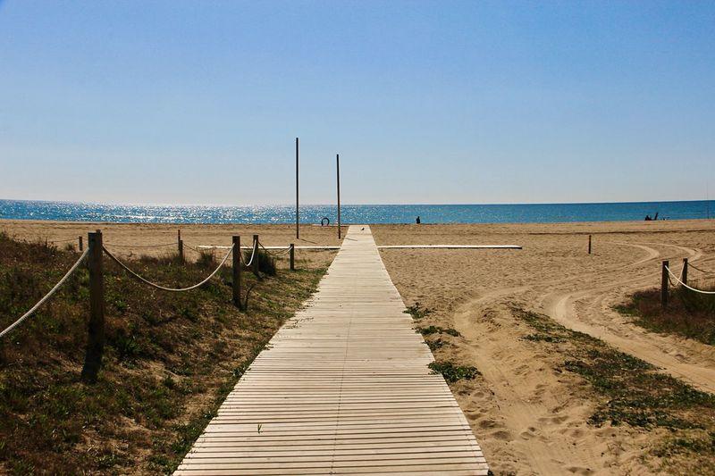Water Beach Sea Sky Land Nature Scenics - Nature Tranquil Scene Beauty In Nature