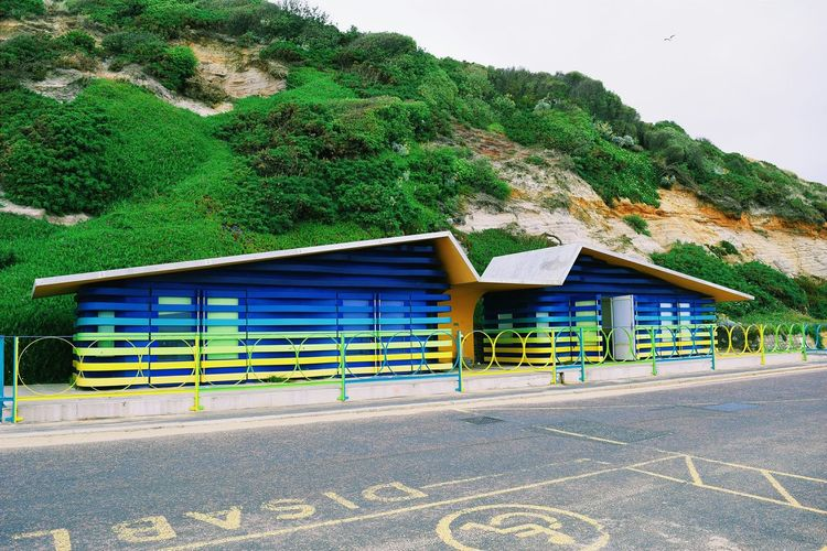 Houses Beach Summertime Colorful Bournemouth Beach Taking Photos Eye4photography  Pictureoftheday Green