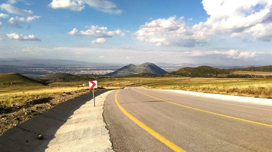 Erciyes Dağı Hacilar Erciyes Yolu Dağlar ❄⛄🌁 Relaxing Dağ Yolu First Eyeem Photo The Journey ıs The Destination
