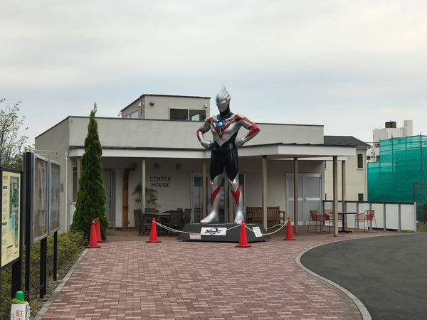 Built Structure Architecture Building Exterior Sky Cloud - Sky No People Day Outdoors Japan Ultraman