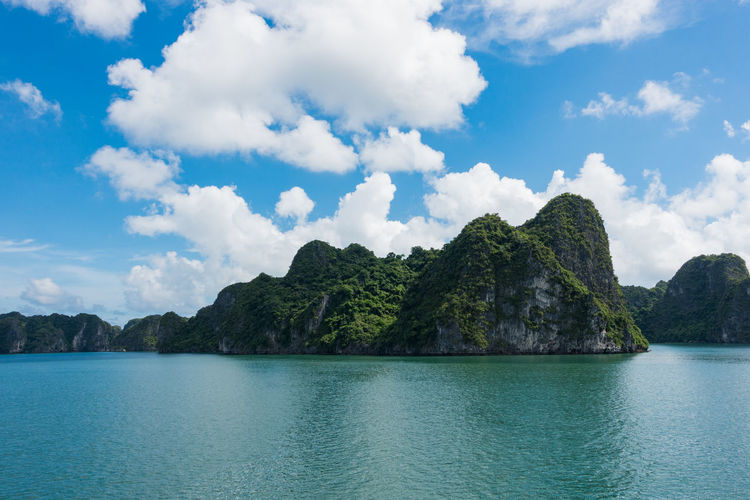 Halong bay, Vietnam Halong Bay Vietnam Holiday Nature Travel Travel Photography Vacations Vietnam Beauty In Nature Blue Cloud - Sky Day Mountain Nature Nature Photographer No People Outdoors Rocks And Water Scenics Sea Sky Tranquil Scene Tranquility Travel Destinations Water