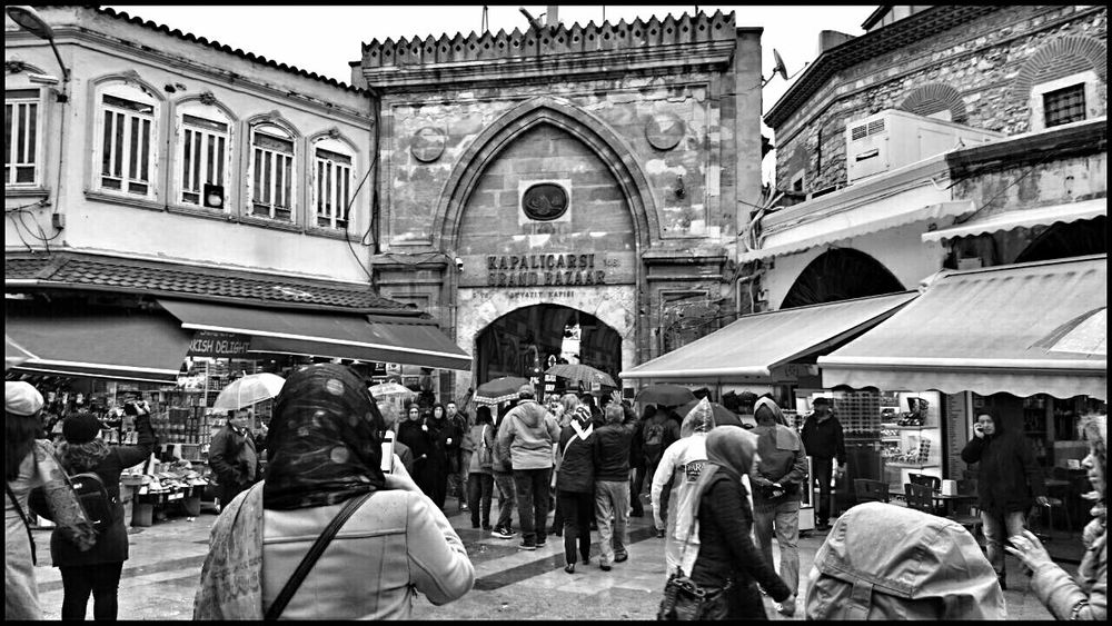A rainy day at Grand Bazaar, Istanbul, Turkey. Turkey Istanbul Grand Bazaar Hanging Out Taking Photos Enjoying Life Walking Around EyeEm Travel EyeEm Team Walking Around The City  Travel Photography Eye4photography  EyeEmBestPics Showcase: November From My Point Of View EyeEm Best Shots EyeEm Gallery Black & White Architecture Amazing Architecture B&w EyeEm Best Shots - Architecture Black And White Collection  Turkishfollowers