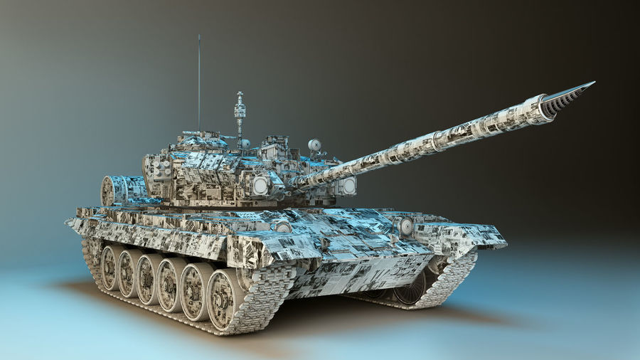 3D Tank covered