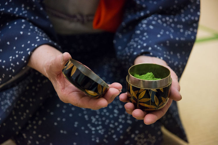 Close-up Focus On Foreground Hands Human Finger Japan Japanese  Kimono Leisure Activity Lifestyles Maccha Selective Focus Tea Ceremony Tea Ceremony Sensei Traditional Costume Traditional Outfit Unrecognizable Person Ultimate Japan