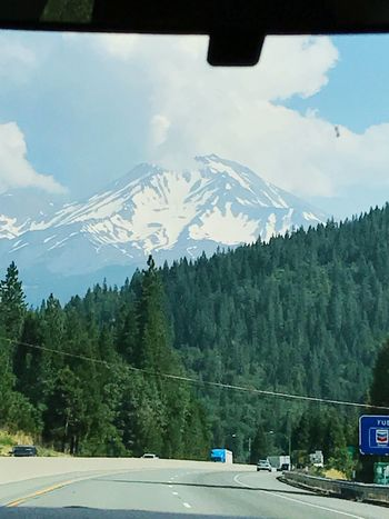 Beauty In Nature Mountain Shasta Journey Sojourner