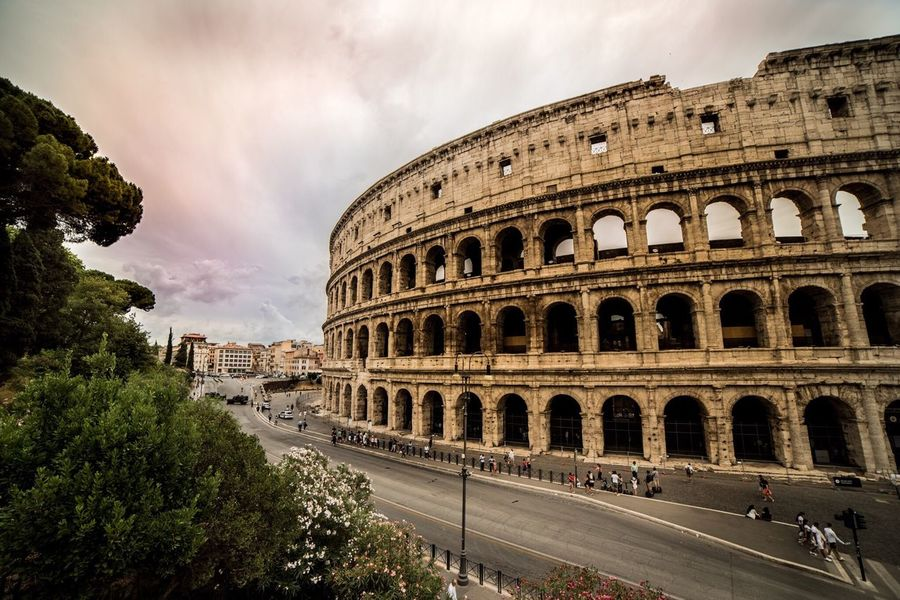 Architecture History Built Structure Travel Destinations Travel Italy Gradiator Rome Architecture Colosseum Historical Building Tree Rome Italy Building Exterior Moving Around Rome