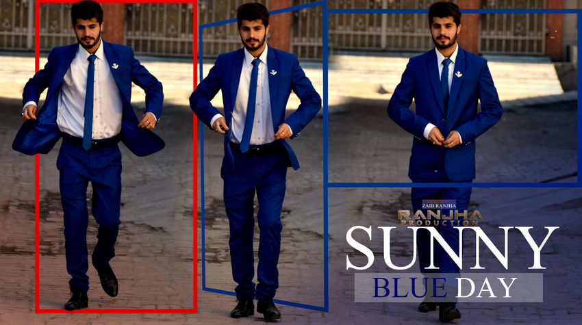 Blue day with zaib ranjha Young Adult Full Length Artist Shootingtime Click By Zaib Ranjha Real People Fashion Chill Mode:)