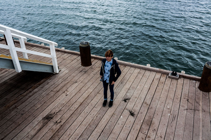 Busselton Jetty A Bird's Eye View Australia Busselton Jetty Casual Clothing Eyeem Photo High Angle View Jetty Lifestyles Margaret River Region Perth Australia Pier Plank Portrait Vacations Water Wood Wood - Material Wooden Finding New Frontiers Traveling Home For The Holidays