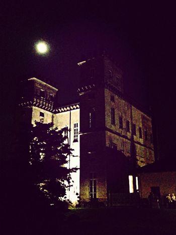 Castle Moon Moon Light