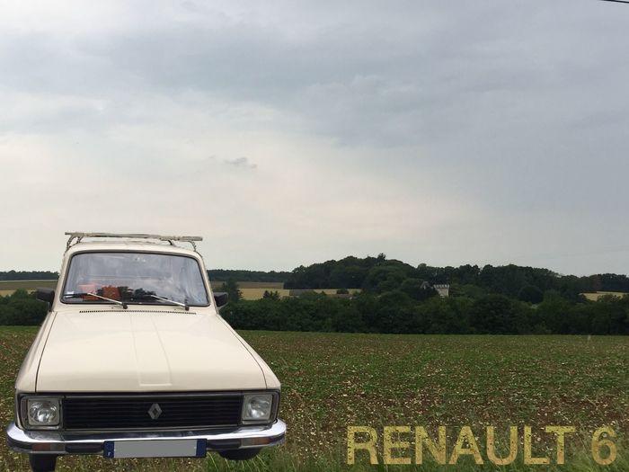 RENAULT 6 Voiture Ancienne Old Car Renault Voiture Voiture Retro Automobile