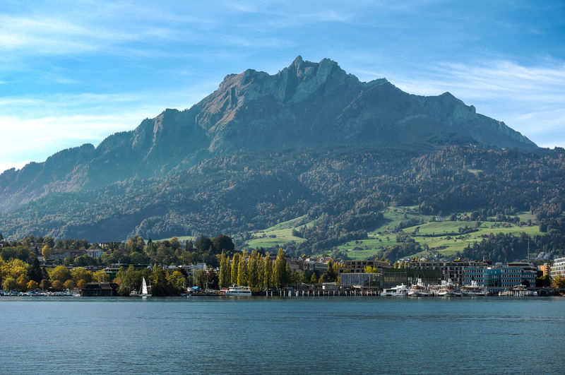 The mountains from Lake Lucerne Beautiful Berge Europe Lake Lucerne Lake Luzerne Landscape Lucerne, Switzerland Luzern Mountains Mountains And Sky Outdoors Sailboat Scenics Schweiz Schwiz Switzerland Tranquil Scene Travel Water The Great Outdoors - 2016 EyeEm Awards