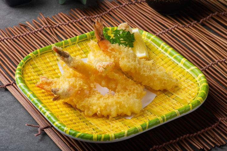 Food And Drink Shrimp Sushi Tempura And Sushi Deep Fried  Fried Prawns Sushi Time Tempurashrimp