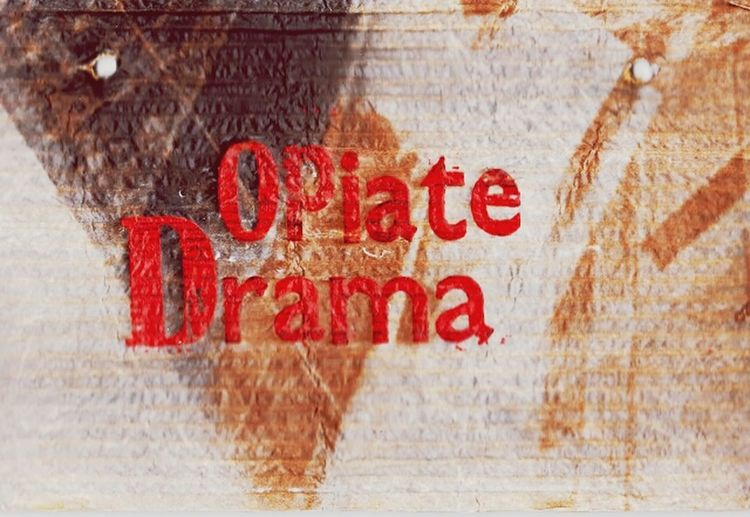 ArtWork Opiate Addiction Text