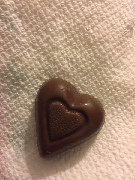 Chocolate Heart Brown Chocolate Chocolate Heart Close-up Day Food Indoors  Indulgence Sweet Food Temptation