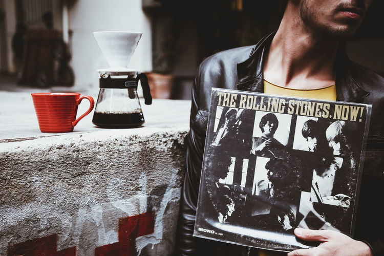 Now! People Lifestyles Coffee Vinyl Records Vinyls Record Cover Coffee Time Cup Mug Vinyl Arts Culture And Entertainment Cafe Travel Streetphotography City City Life The Street Photographer - 2017 EyeEm Awards Istanbul Eye4photography  Music