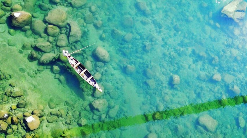 Water High Angle View Nature River Aerial View Outdoors Travel Indiapictures Famous Place The Journey Is The Destination Travel Destinations Meghalaya Meghalaya Northeast India Crystal Clear Clear Water Boating Fishing Open Edit Hello World OpenEdit EyeEmNewHere