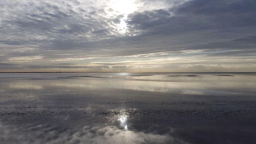 Salt - Mineral Water Sea Sunset Beach Low Tide Sun Reflection Wave Desert