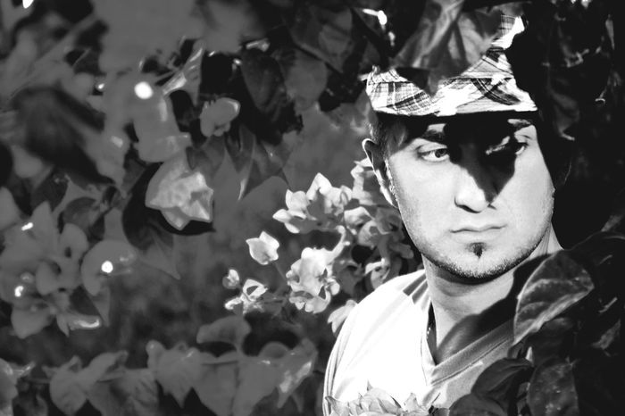 Relaxing Portrait Of A Man  Malemodel  Nightphotography SouthCyprus Diploidrec Blackandwhite Monochrome Photography