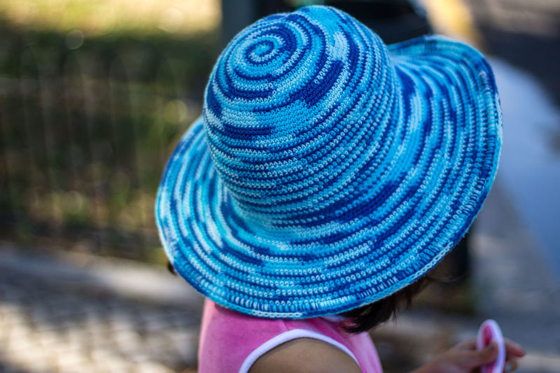 Blue Blue Hat