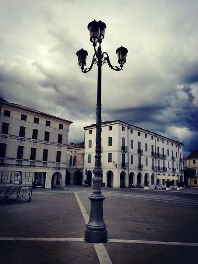 """""""Lampione"""" Street Lamp Square in Cittadella 2016"""