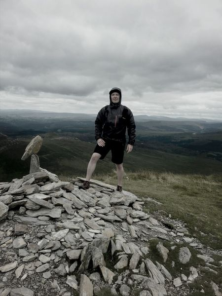 summit of pen llithrig 799m above sea level. Snowdonia Summit Mountains Northwales