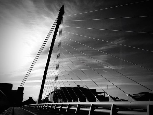 Precision EyeEm Best Shots Open Edit Architecture EyeEm 5.0 Blackandwhite Blackandwhite Photography Dublin Street Photography Architecture_bw Bridge