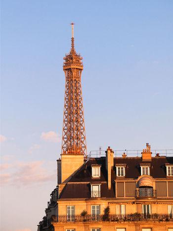 This is PARIS Eiffel Tower Fashion France Paris Tour Eiffel View Architecture Beautifulsky Dawn Eiffel_tower  Eiffeltower Frenchphotographer Landscape Love_paris Loves_france Loves_paris No People OnlyinParis Parisian Parisjetaime Photo Photography Roofofparis Sky Toureiffel