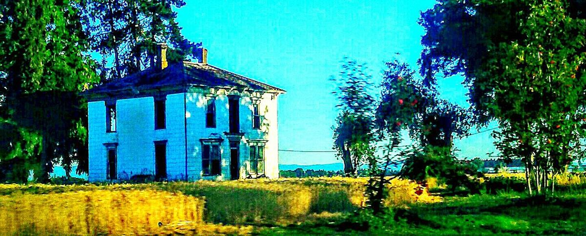 Taking Photos Check This Out Enjoying Life Aroundtheworld Photograph Your Life Addicted To Photography I❤oregon Contry Road Abandoned Old Home Beautiful Ruin Haunted Indeed Haunted House If These Walls Could Talk The Countryside I Like My Own Pictures!✌😎 Hidden Gems  This Week On Eyeem Historical Architecture Oregon Trail Trailblazers_rural Plantation Ruins Architecture Old But Awesome Home Is Where The Art Is