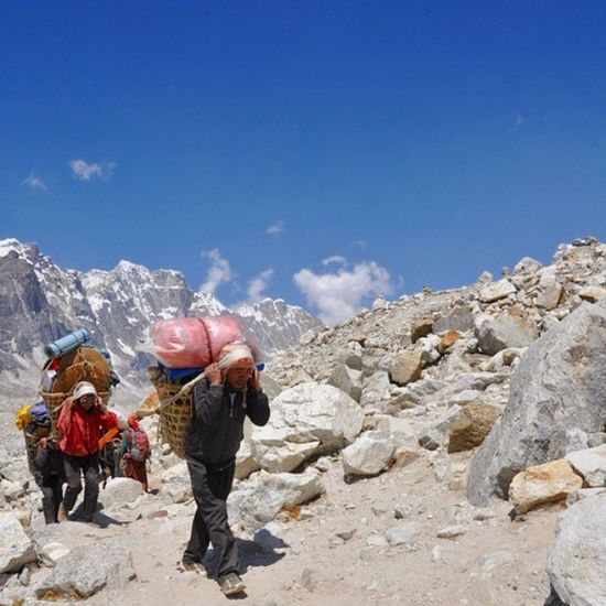 Sherpas are the backbone of the mountaineering tourism in Nepal. Without them most of us can only dream of attempting a summit in one of the many mountains in the Himalayas. I had the pleasure of meeting and chatting with many of them through my adventures in Nepal, either in the Khumbu region or the Annapurna region. Photo taken during my trek to Everest Base Camp back in 2012. Traveltheworld Adventure Neverstopexploring  GlobalTraveller Mountaineering Trekking Nepal Everestbasecamp Ilovemountains Check out my page if you like what you see and follow me on my adventures past and present around the world 😊😊😊