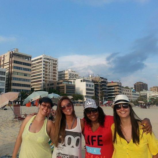 Galera da Praia.....Pordosol Instalove Sumer2014 Beach DiadeSol AmoMto CidadeMaravilhosa