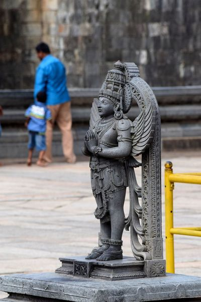 Belur Statue Architecture Place Of Worship Building Exterior Ancient Sculpture Worship Place Tredition Art And Craft Real People Cultures Day Outdoors