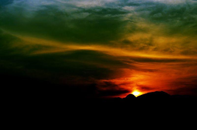 Sunset Hills Hillside Coimbatore Dusk Hues Nature Golden Evening Sky Nikon D5100 Photography jo_graphy First Eyeem Photo