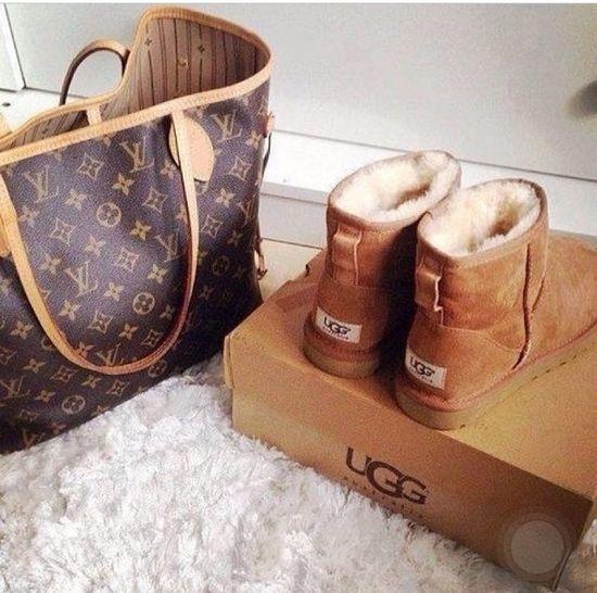 Uggs Louis Vuitton Neverful Love Bestbrands Christmas Myowngift Monogram Camel Hopeyoulikeit