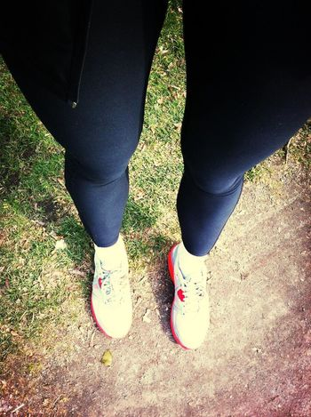 Running at Volkspark Humboldthain Running