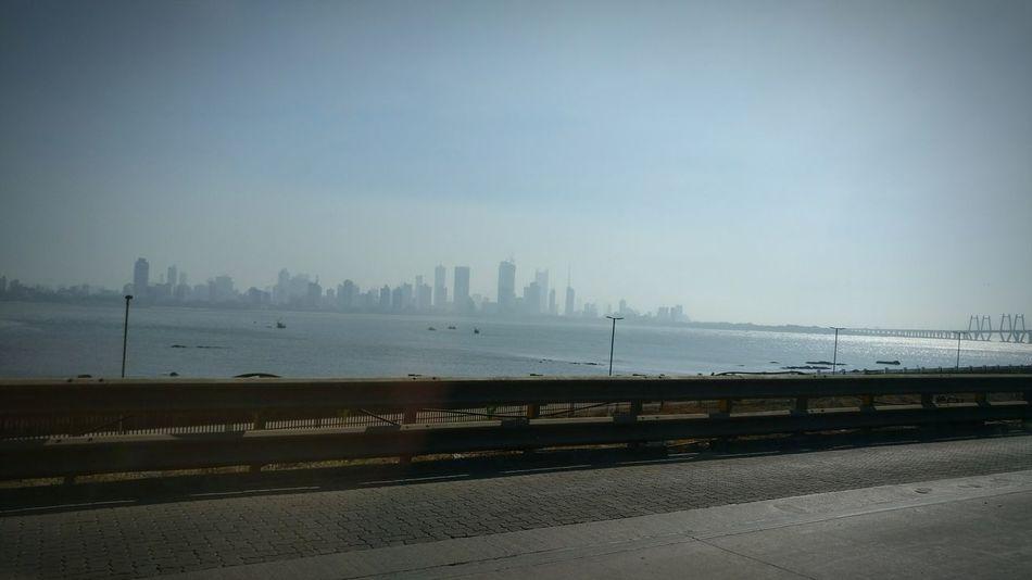 Sea Beach Water City Scenics Outdoors No People Beauty In Nature Urban Skyline Day Beautiful ♥ EyeEm Best Shots MumbaiDiaries Sea And Sky Seascape Mumbai Cityofdreams  Skyline Urban Highrises Highrisebuilding