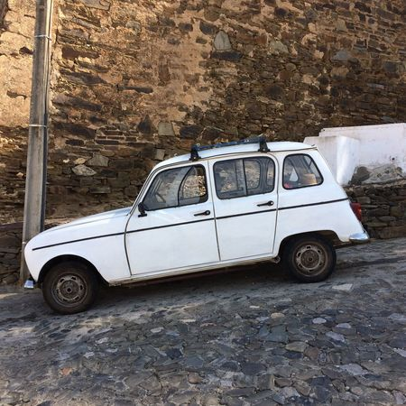 2017 Transportation Mode Of Transport Car Land Vehicle No People Day Outdoors Lovely R4 Renault 4 Algarve Alcoutim Portugal