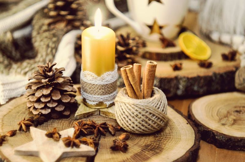 #8 Photo Photos Pic Pics Picture Pictures Photooftheday Composition Exposure Capture Moment Focus Picoftheday Vintage Decoration Christmas Decoration Decorative Decor Nikon Candle Candlelight Oldlens Nikonphotography Capture The Moment Large Group Of Objects Star Anise Wood Candles Photography Lens