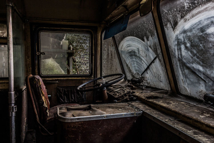 Bus Inside Drivers Seat Old Abandoned Urban Urbex Urban Exploration Urbexphotography Urbanphotography UrbanART Urbandecay Photo Photography Photooftheday Love Me All_shots Canon Window Abandoned Steps Steps And Staircases Architecture Built Structure