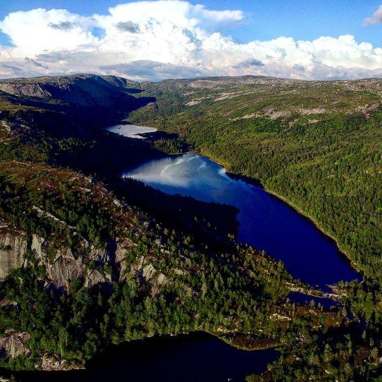 •Drone Shot• Dji Inspire1 Norwegen Lake Landscape Beauty In Nature Nature Water Outdoors