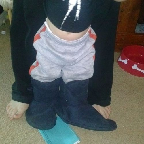 Jess looking good in mommys boots JesseDaniel Thuggin LookingSoFly CrazyBored