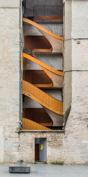 Stairs in old town of Besançon, France Architecture Building Building Exterior Built Structure Close-up Day Design Detail No People Outdoors Staircase