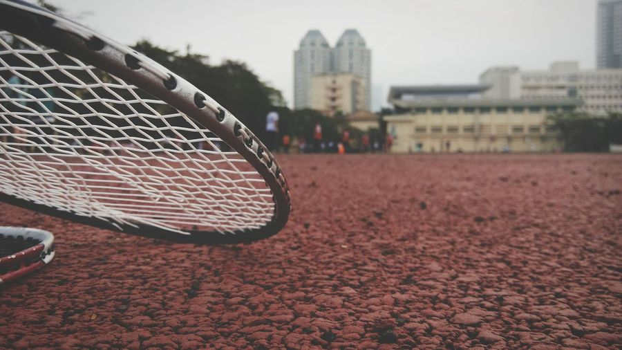 Showcase: January Workout Cloundy A Windyday can not play Badminton