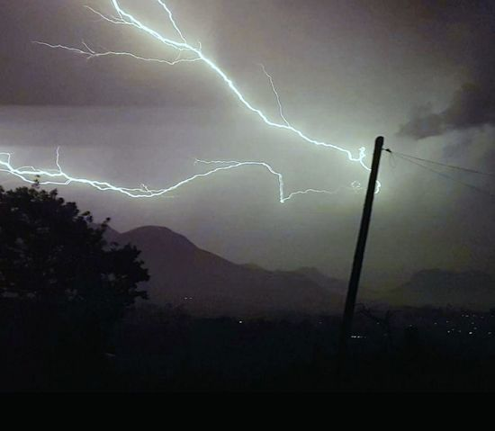 Thunderstorm Weather Lightning Danger Forked Lightning Power In Nature Dramatic Sky Extreme Weather Second Acts